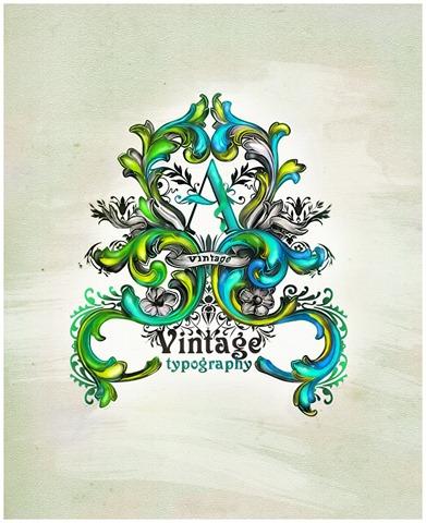 Vintage_typography_by_essfero