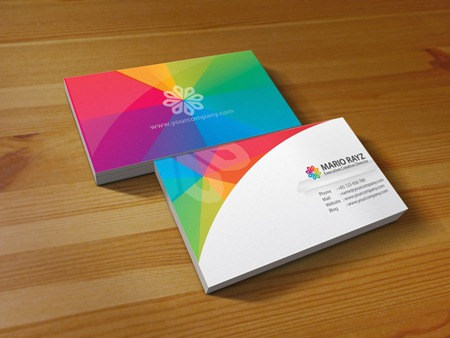 rainbow_petals_business_card_by_lemongraphic-d39uom4