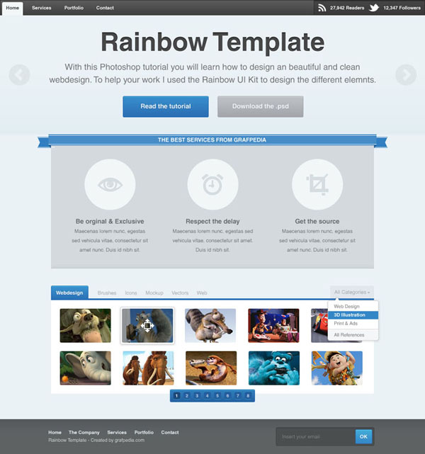 Rainbow-template-preview-600