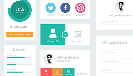 Flat-UI-Kit-(free-download)